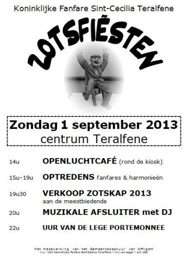 zotsfeesten 2013 flyer