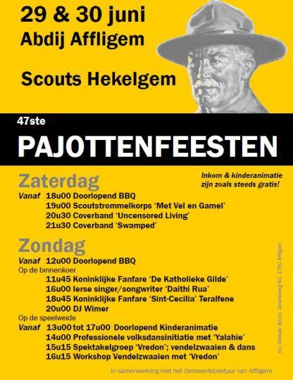 affiche pajottenfeesten hekelgem 2013 - website